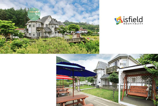 ISFIELD, Pyeongchang 2018 Accommodation, Alpensia, DOROSY PENSION