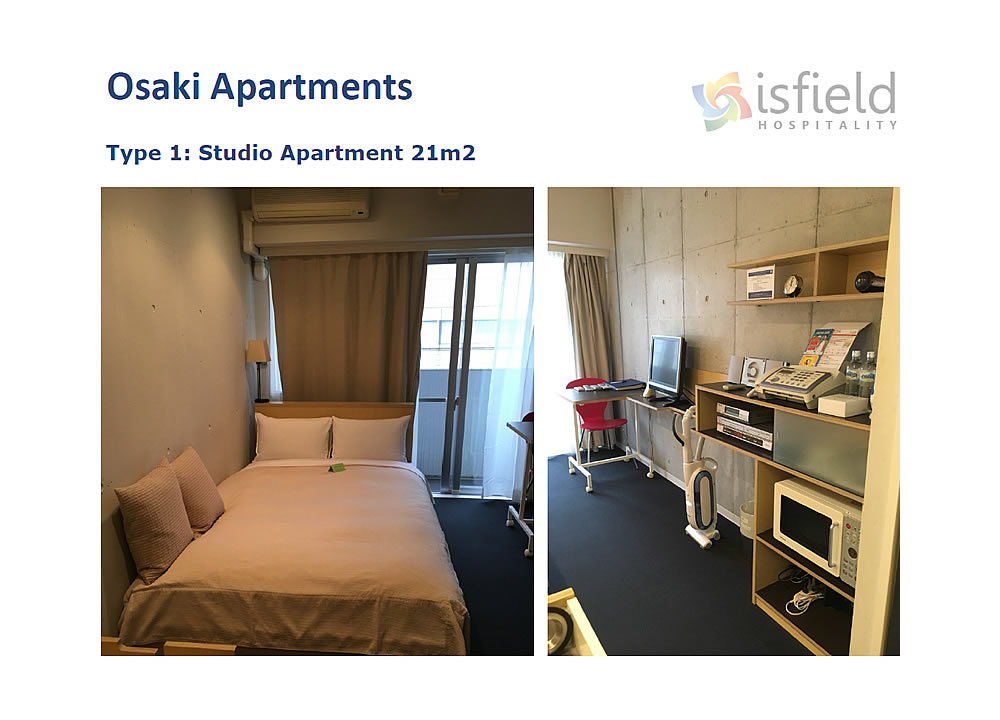 Osaki apartments at Shinagawa - Accommodation for the Tokyo 2020 Olympics