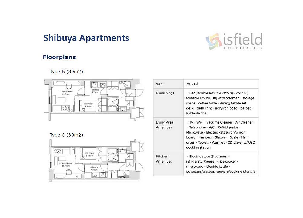 Shibuya Apartments - Tokyo 2020 Accommodation