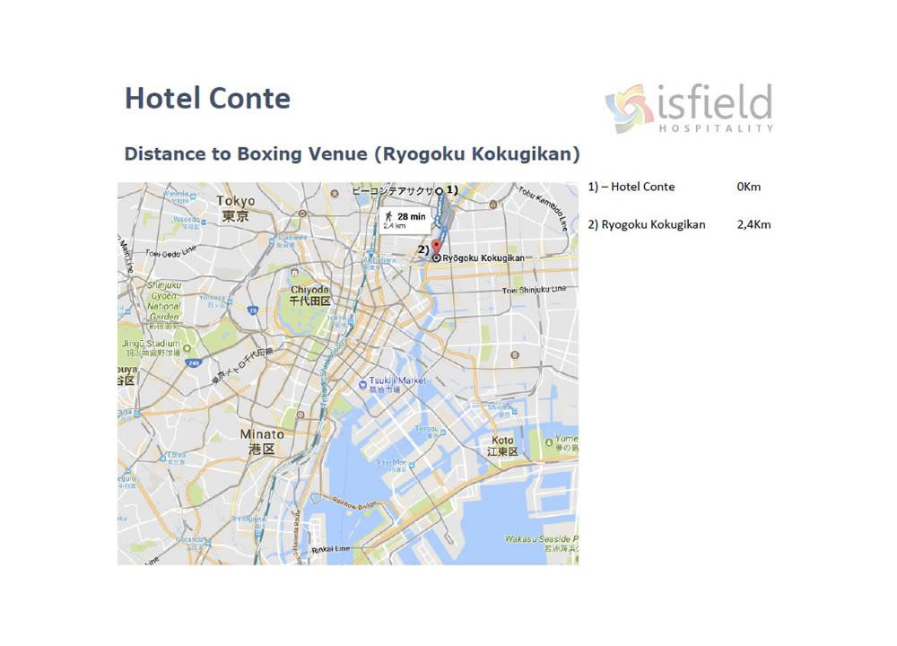 Hotel Conte - Tokyo 2020 Accommodation