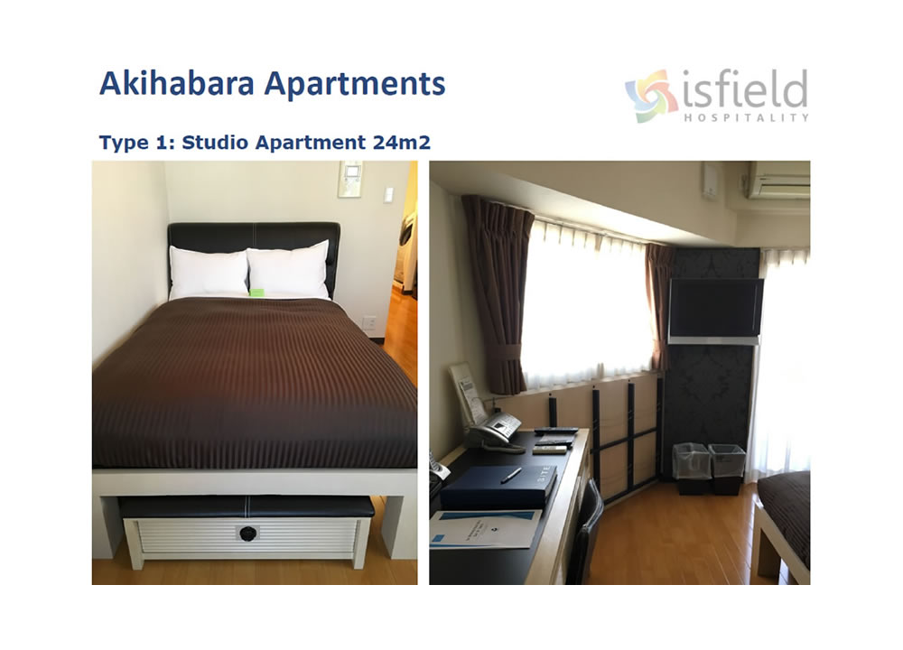 Accommodation for the 2020 Tokyo Olympic Games at Akihabara