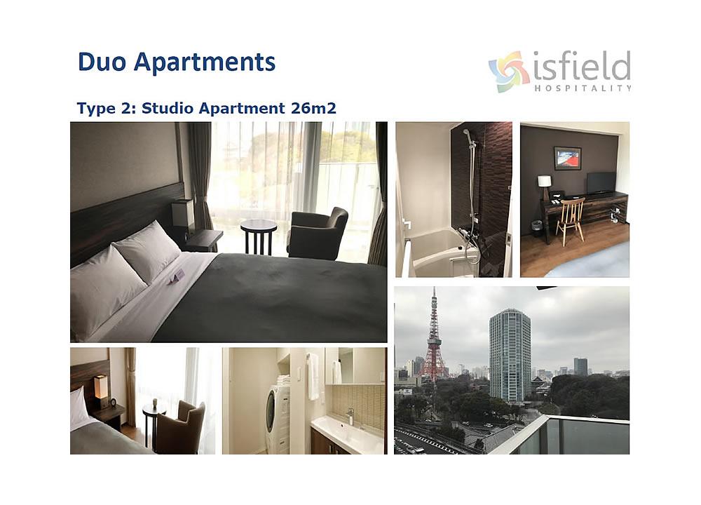 Duo  Apartments, Shiba - Minato, Tokyo 2020 Olympics Accommodation