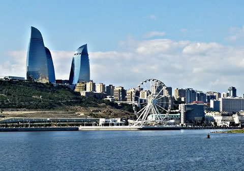 Baku 2017 accommodation by Isfield